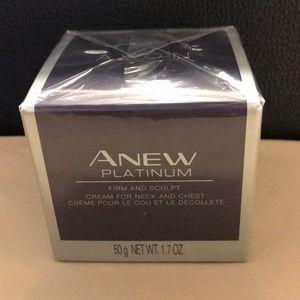 Avon Anew Platinum firm and sculpt cream 1.7fl oz
